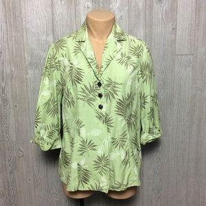 Beautiful Green Blouse PLUS SIZE 18 20